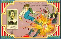 vintage postcard marks - Google Search
