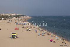 """Скачивайте роялти-фри фото """"The beach of Calella"""", сделаную virin по самой низкой цене на Fotolia.com. Полистайте наш банк изображений и найдите идеальную стоковую фотографию для вашего маркетингового проекта! Stock Photos, Beach, Water, Outdoor, Gripe Water, Outdoors, The Beach, Beaches, Outdoor Games"""