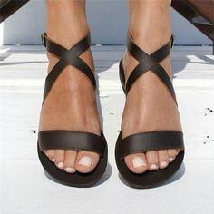 3aab2126f Woman Summer Flat Ladies Vntage Flip Thong Flats Sandal Shoes – Essish