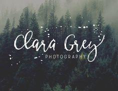 Logo Design Photography Logo and Watermark  von CoffeeandInkDesign