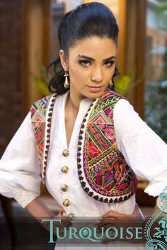 embroidered Summer Desi women fashion dresses by turquoise