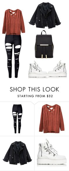 """Untitled #218"" by elma-alibasic ❤ liked on Polyvore featuring WithChic, Puma and Forever 21"