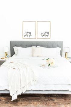 YOU PRINT PRINTABLE Wall Art I Belong With You You by DearLilyMae, Nursery Decor, Baby Room Decor, Nursery Inspo, Children's Room Ideas