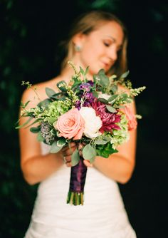 Midsummer Night's Dream wedding inspiration | photo by Nikki Santerre Photography | 100 Layer Cake