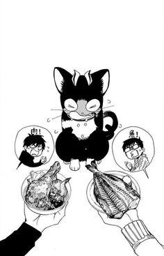 "strongcraving: ""AnE Volume 21 Bonus Page "" Me Anime, I Love Anime, Manga Anime, Anime Art, Kuro Ao No Exorcist, Blue Exorcist Anime, Blue Exorcist Cosplay, Rin Okumura, Otaku"