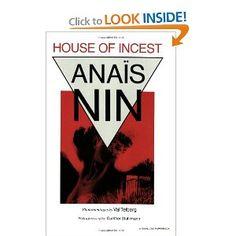 House Of Incest  By Anais Nin