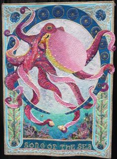 OCTOPUS QUILT..............PC................Song Of The Sea - QuiltingHub - Forums - General - Quilt Project