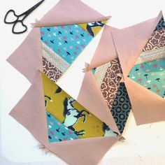 Scrappy STRIPED Flying Geese TUTORIAL!!