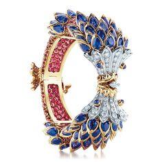 Tiffany & Co. Schlumberger® fish bracelet of diamonds and gemstones. | Tiffany & Co.