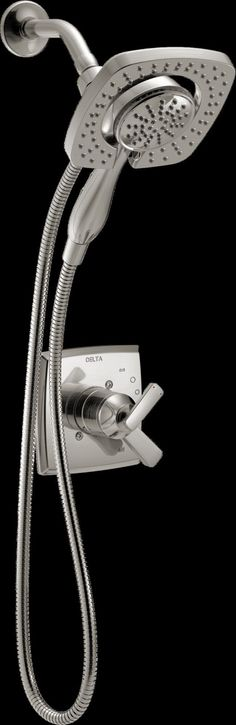 Features:  Country of Manufacture: -United States.  Product Type: -Shower Faucet.  Style: -Contemporary.  Flow Rate: -2.5 Gallons Per Minute.  Installation Type: -Wall mounted.  Spray Pattern: -Full/M