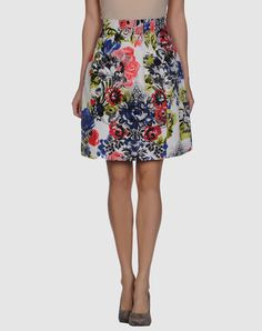 MOSCHINO CHEAPANDCHIC  Knee length skirt