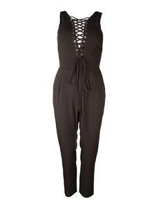 Black jumpsuit- lace detail   Clouds of Fashion