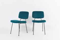 """Résultat de recherche d'images pour """"chaises années 50 velours"""""""