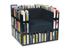 La Bibliochaise, un progetto di Giovanni Gennari e Alisée Matta Arredare con le librerie - Fotogallery di AtCasa.it