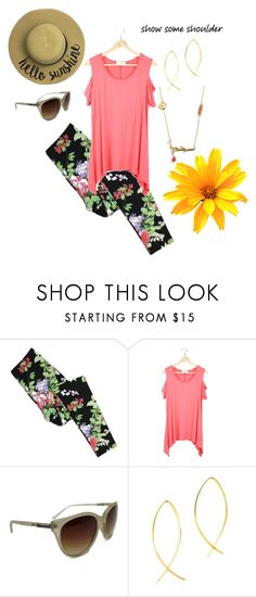 """""""Show Some Shoulder"""" by maria-himes on Polyvore"""