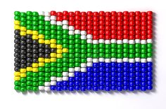 Illustration about A traditional zulu beaded south african flag on an isolated background. Illustration of beads, traditional, africa - 27159815 South African Flag, South African Design, African Beads, African Art, African Traditions, Dot Day, African Flowers, Zulu, Loom Patterns