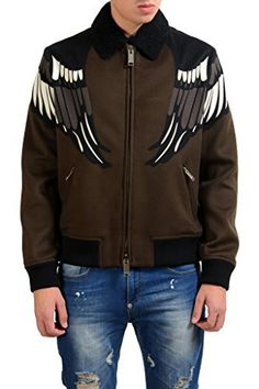 """Valentino Men's Cashmere Wool Embroidered Full Zip Jacket.Material: 90% Wool 10% Cashmere.SKU: KJ-WH-5419.Model: 152001UGBJV0CIS572TN585.Country/Region of Manufacture: Italy       Famous Words of Inspiration...""""Loving is not just looking at each other, it's looking in...  More details at https://jackets-lovers.bestselleroutlets.com/mens-jackets-coats/wool-blends-mens-jackets-coats/product-review-for-valentino-mens-cashmere-wool-embroidered-full-zip"""