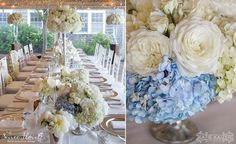 Hydrangea, Garden Rose and Peonies | Nantucket Wedding at the White Elephant Hotel by Soiree Floral (www.soireefloral.com) #soireefloral #nantucket