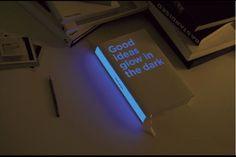 Glow in the dark book
