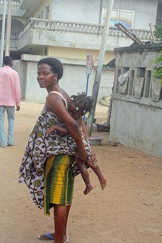 Mother & Child  Cotonou Benin  #JujuFilms