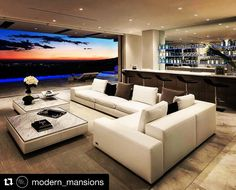 #Repost @modern_mansions with @repostapp  Tag someone that would want a living room and bar with a view like this!!  Check Out My Other Account!  @omg.films (Luxury Videos)  @omg.films (Luxury Videos)  @omg.films (Luxury Videos)  #luxury#luxuryhome#luxuryhomes#luxuryhouse#luxuryhouses#luxurylife#luxurylifestyle#mansion#mansions#mansionhouse#bighouse#bighouses#rich#richlife#richlifestyle#homes#homesweethome#homestyle#homestead#homestyling#house#houses#modern_mansions