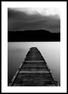 Wooden Pier Poster in the group Prints / Nature at Desenio AB (3305)