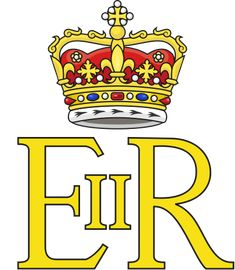 Royal Cypher of Queen Elizabeth II for used in Scotland (as it depicts the Crown of Scotland), (Hypothethical)