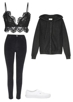 """""""Ariana Grande 'one last time' inspired outfit"""" by moonlightingari ❤ liked on Polyvore featuring Isabel Marant, Topshop, Vans and American Vintage"""