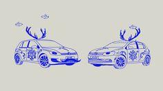 Ľudove vozidlá, Wolkswagen Slovensko commercial, nadherna animace