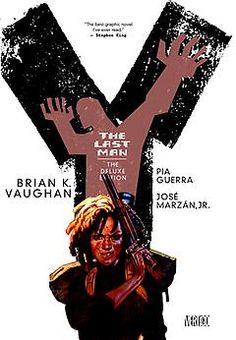Y: The Last Man by Brian K. Vaughan is the first comic I ever read, and I still haven't found any series to top this sexy, thrilling, probing, devastating speculative fiction tale. [Natalie]