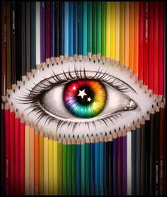 The eye of colors!