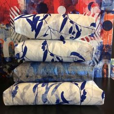 Our commitment to creating and communicating high quality contemporary art has been a constant since day one. Bed Pillows, Cushions, Contemporary Artwork, Printed Linen, Space Crafts, Coastal Homes, Painting Inspiration, Screen Printing, Gladstone