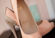#Pink and #silver #Louboutins