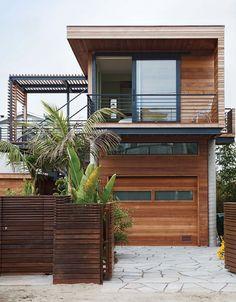 Sandy cul-de-sac in Stinson Beach, California, architects Matthew Peek and Renata Ancona Published by Maan Ali