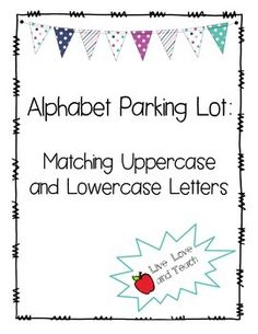 This is a PDF download of an activity called Alphabet Parking Lot. This activity includes two parking lot templates with a combined amount of 26 uppercase letters, one in each parking lot space. It also includes two pages of cars with a lowercase letter on each car (26 cars total.) This could be used as an ABC center, an interactive worksheet, a practice activity for those who struggle with letter identification, pronunciation, or uppercase and lower case letter matching, or could even be mo... Abc Centers, Mini Reading, Letter Identification, Letter Matching, Uppercase And Lowercase Letters, Kindergarten Literacy, Parking Lot, Lower Case Letters, Alphabet
