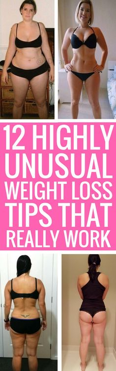 12 unusual ways to lose weight fast and for good.