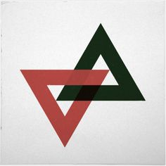 #157 The impossible print – A new minimal geometric composition each day