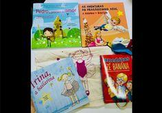 Passatempo: Ganhe Quatro livros de criança