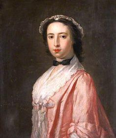 The Athenaeum - Portrait of a Lady (William Denune - ) English c 1745