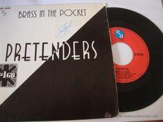 DISCO SINGLE Pretenders - Brass In The Pocket, Single Hispavox Spain 1979