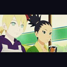 #boruto#ninja#anime#shikadai#inojin