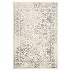 The contemporary style of the Reid Area Rug from Safavieh is a beautiful addition to your home. With several different colors, shapes and sizes to choose from, the area rug makes a stunning focal point for any room. The indoor rug is a machine loomed polypropylene fabric with a low pile. To keep in tiptop condition, vacuum regularly and spot clean as needed.