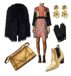 """""""Out all night"""" by gabrielle-spinelli on Polyvore featuring Etro, Marc Jacobs, Mulberry and Oscar de la Renta"""