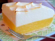 Welcome Home Blog: My Mom's Lemon Meringue Pie