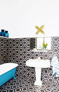 Tour a Pattern-Packed Coastal Bungalow in Morocco