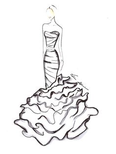 15 best wedding images on pinterest dress wedding alon livne Waterfall Weddings in Gatlinburg TN Packages sofia vergara wedding gown sketch