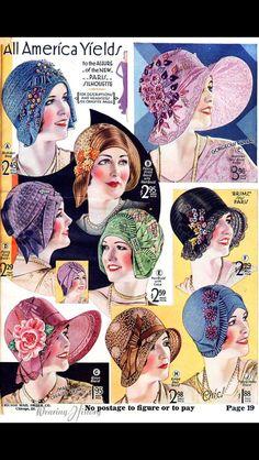 1920s ~ cloches