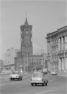 os carros em Berlím (leste), 1970