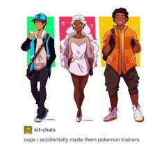 Voltron Pokémon trainers