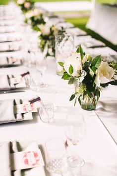 Farm table wedding reception   Rebecca Arthurs Photography   see more on: http://burnettsboards.com/2015/04/oahu-ranch-wedding/